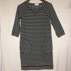 Max Studio Weekend Striped Dress w front pocket